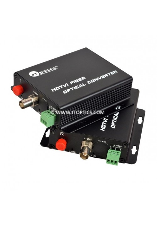 HDTVI VIDEO TO OFC CONVERTER SINGLE MODE 20KM – 1 CHANNEL 720P - PAIR
