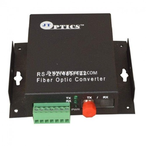 INDUSTRIAL DATA  TO FIBER CONVERTER SINGLE MODE 20KM