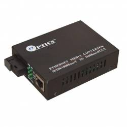 Gigabit Ethernet Media Converter Single Mode Single Fiber, SM, Sc, 1310nm, 20km Unmanaged Pair