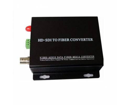 Hd-sdi video transmitter and receiver over single mode single optical fiber, 1080p, sc, 1310nm, 10km Pair