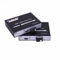 Hdmi Video Transmitter and Receiver Over Single Mode Optical Fiber Upto 10Km, Single fiber, SM, 1080p, Sc, 1310nm, 10km Pair