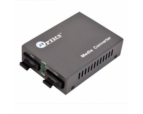 Multimode to single mode fiber converter upto 20km or mm to sm foc media converter unmanaged