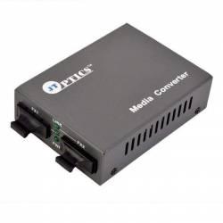 Multimode to Single Mode Media Converter, MM to SM Optical Fiber Converter, Sc Dual fiber , 20km Unmanaged