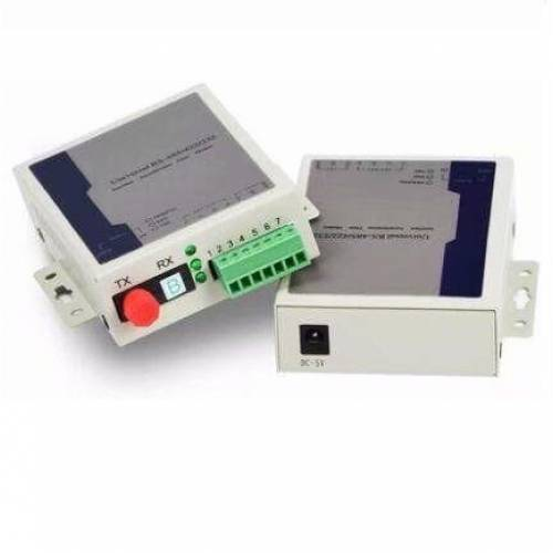 Rs485 Serial Data Transmitter and Receiver Over Single Mode Optical Fiber Upto 20Km, SM, Sc, 1310nm, 20km Pair JTRSOC123-20 Video Media Converter