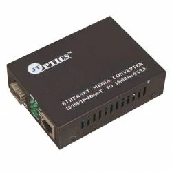 Sfp type ethernet media converter without module unmanaged