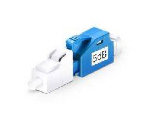 5db lc upc male to female single mode ofc fixed attenuator
