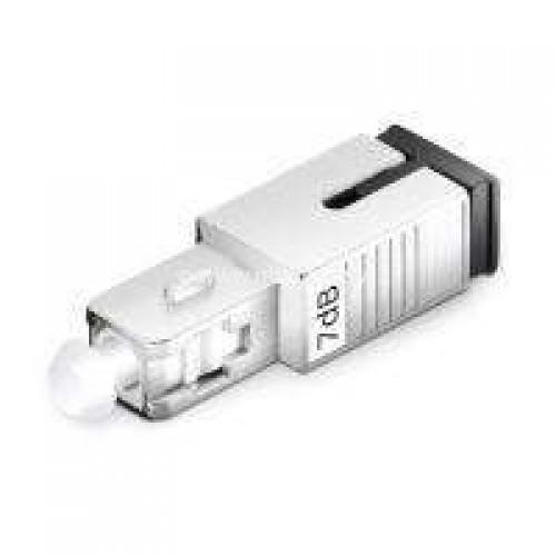7db optical attenuator sc upc male to female for single mode ofc