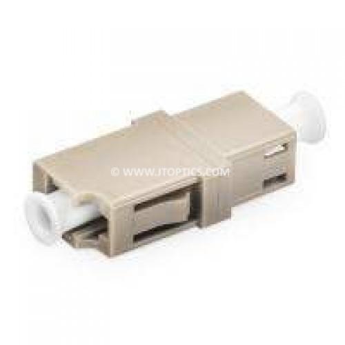 Lc pc lc pc multimode simplex fiber optical adaptor coupler