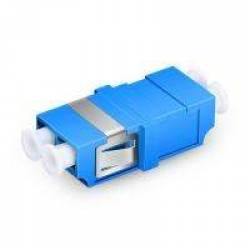 Lc pc lc pc single mode duplex fiber optical adaptor coupler