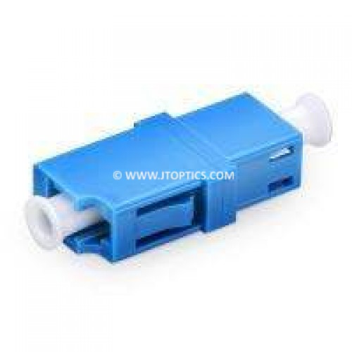 Lc pc lc pc single mode simplex fiber optical adaptor coupler