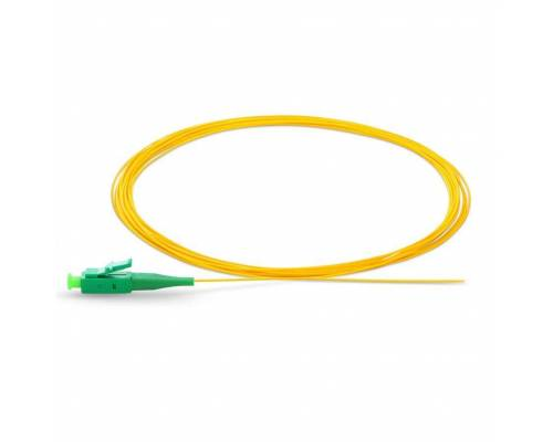Lc apc single mode optical fiber pigtail tight buffer 900 micron