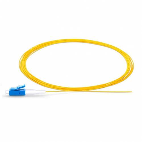 Lc upc single mode optical fiber pigtail tight buffer 900 micron