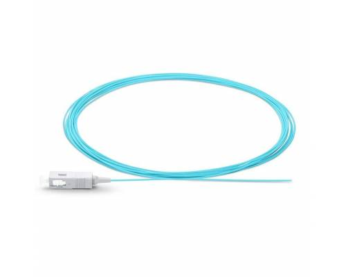 Sc upc multimode pigtail ofc pigtail tight buffer 900 micron or sc pc mm sx optical pigtail