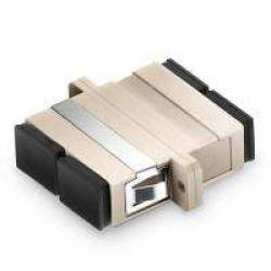 Sc pc sc pc multimode duplex fiber optical adaptor coupler