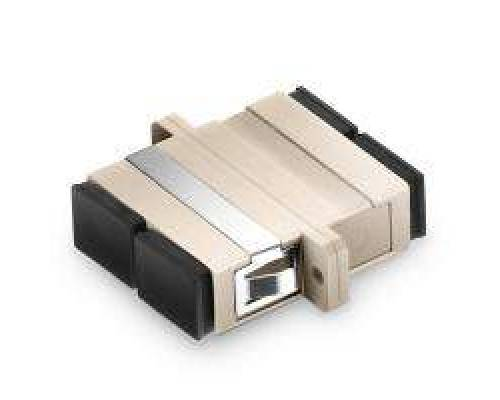 Sc pc sc pc multimode duplex fiber optical adaptor