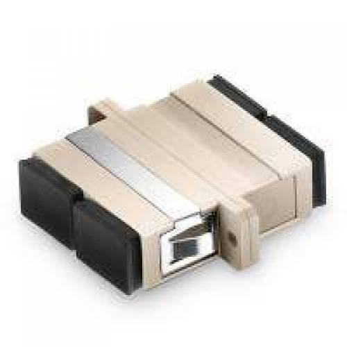Sc pc sc pc multimode duplex fiber optical adaptor