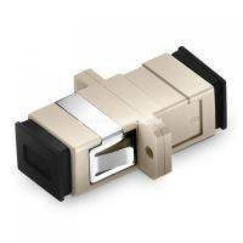 Sc pc sc pc multimode simplex fiber optical adaptor coupler