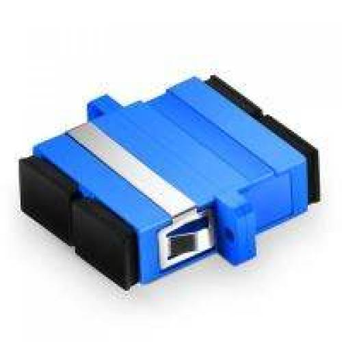 Sc Sc Single Mode Duplex Fiber Optical Adaptor, Sc Sm Dx Coupler JTADSCSCDXSMCP Adaptor