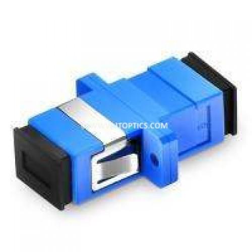 Sc pc sc pc single mode simplex fiber optical adaptor coupler
