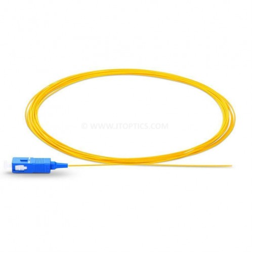 Sc upc single mode optical fiber pigtail tight buffer 900 micron or sc upc ofc pigtail sm sx