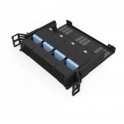 288 Fiber 2U Rack Mount Ultra Hd Fms Fiber Enclosure, Hold Upto 24 Ultra Hd Lgx Mpo Mtp Cassettes, Unloaded