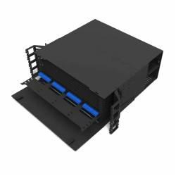 576 Fiber 4U Rack Mount Ultra Hd Fms Fiber Enclosure, Hold Upto 48 Ultra Hd Lgx Mpo Mtp Cassettes, Unloaded