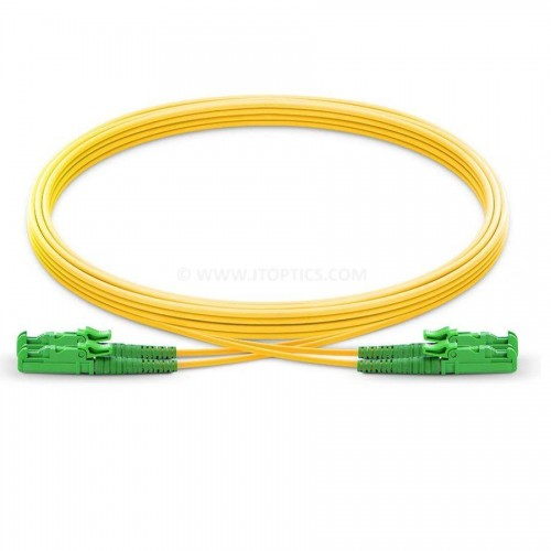E2000 apc e2000 apc single mode duplex lszh 2mm premium patch cable or e2k apc e2k apc sm dx ofc patch cord