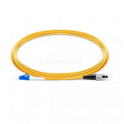 Fc upc lc upc single mode simplex lszh 2mm premium patch cable or fc pc lc pc sm sx ofc patch cord