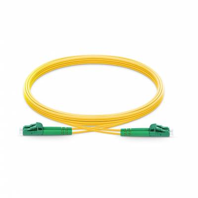 LC APC LC APC SINGLE MODE DUPLEX LSZH PREMIUM PATCH CABLE