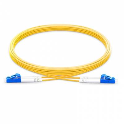 LC UPC LC UPC SINGLE MODE DUPLEX LSZH PREMIUM PATCH CABLE