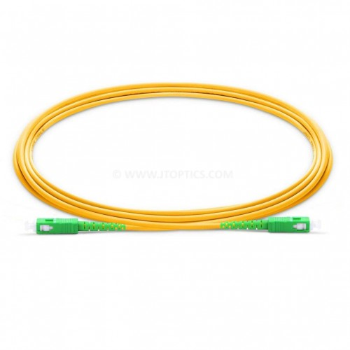Sc apc sc apc single mode duplex lszh 2mm premium patch cable or sc apc sc apc sm dx ofc patch cord