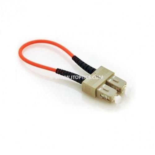 SC multimode loopback cable