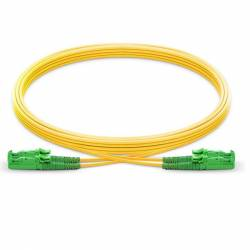 E2000 apc e2000 apc single mode os2 duplex lszh 2mm optical fiber patch cable