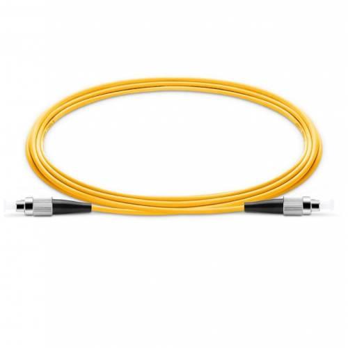 Fc Fc Sm Sx Ofc Patch Cord, Fc Upc Fc Upc Single Mode Os2 Simplex Lszh 2Mm Optical Fiber Premium Quality Patch Cable JTPCFCPFCPOS2SXLZXXP Patch Cable