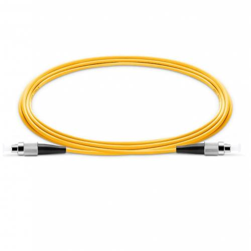 Fc upc fc upc single mode os2 simplex lszh 2mm optical fiber patch cable