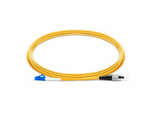 Fc upc lc upc single mode simplex lszh 2mm patch cable or fc pc lc pc sm sx ofc patch cord
