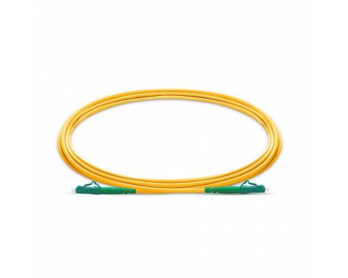 Lc apc lc apc single mode os2 simplex lszh 2mm optical fiber patch cable