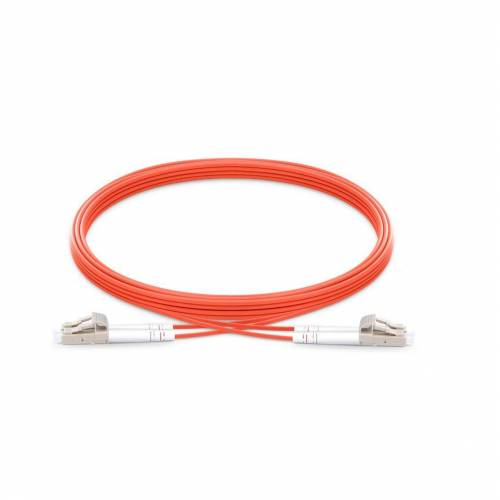 Lc upc lc upc multimode om1 duplex pvc 2mm optical fiber patch cable