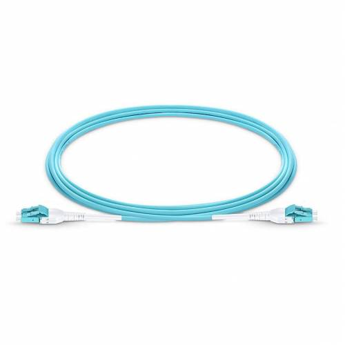 Lc Lc Om3 Mm Dx Uniboot Pushpull Patch Cord, Lc Upc Lc Upc Multimode Om3 Duplex OFNP Plenum 2Mm Premium Quality Uniboot Patch Cable JTPCLCPLCPOM3DXPVXXPU Premium Patch Cables