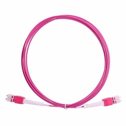 Lc Lc Om4 Mm Dx Uniboot Patch Cord, Lc Pc Lc Pc Om4 Multimode Duplex OFNP Plenum 2Mm Patch Cable JTPCLCPLCPOM4DXPVXXPU Premium Patch Cables