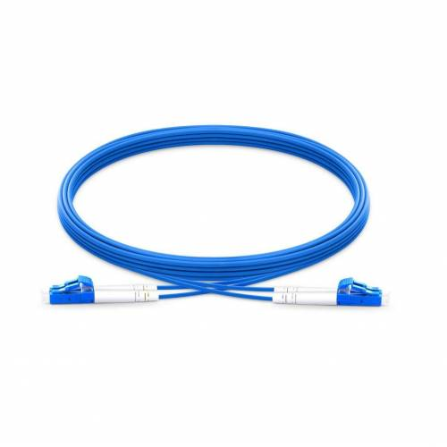 Lc upc lc upc single mode duplex armored patch cable