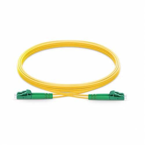 Lc Lc Sm Dx Ofc Patch Cord, Lc Apc Lc Apc Single Mode Os2 Duplex Lszh 2Mm Optical Fiber Premium Quality Patch Cable JTPCLCALCAOS2DXLZXXP Patch Cable