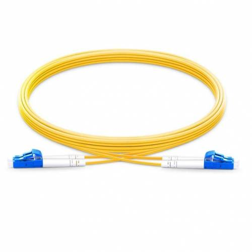 Lc Lc Sm Dx Ofc Patch Cord, Lc Upc Lc Upc Single Mode Os2 Duplex Lszh 2Mm Optical Fiber Premium Quality Patch Cable JTPCLCPLCPOS2DXLZXXP Patch Cable