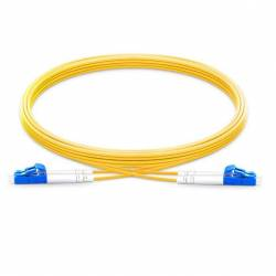 Lc pc lc pc single mode os2 duplex lszh 2mm optical fiber patch cable