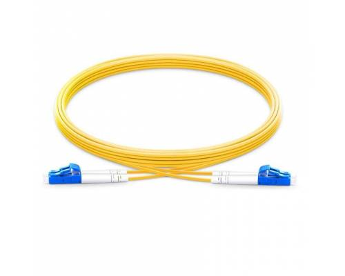 Lc upc lc upc single mode duplex lszh 2mm patch cable or lc pc lc pc sm dx ofc patch cord