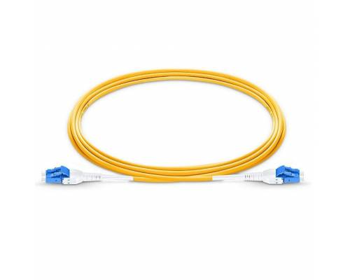 Lc upc lc upc single mode duplex lszh premium uniboot patch cable or lc pc lc pc sm dx ofc uniboot patch cord