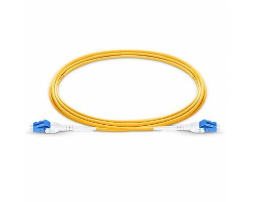 Lc pc lc pc single mode os2 duplex lszh premium quality uniboot patch cable