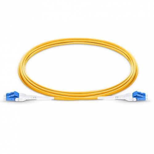 Lc Lc Sm Dx Uniboot Pushpull Patch Cord, Lc Upc Lc Upc Single Mode Os2 Duplex OFNR Riser 2Mm Premium Quality Uniboot Patch Cable JTPCLCPLCPOS2DXLZXXPU Premium Patch Cables
