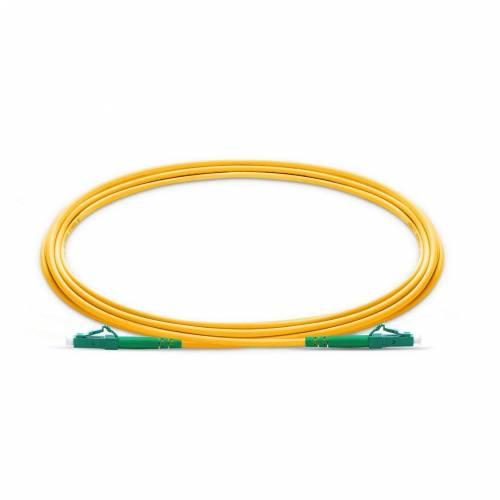 Lc Lc Sm Sx Ofc Patch Cord, Lc Apc Lc Apc Single Mode Os2 Simplex Lszh 2Mm Optical Fiber Premium Quality Patch Cable JTPCLCALCAOS2SXLZXXP Patch Cable