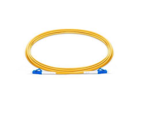Lc pc lc pc single mode os2 simplex lszh 2mm optical fiber patch cable